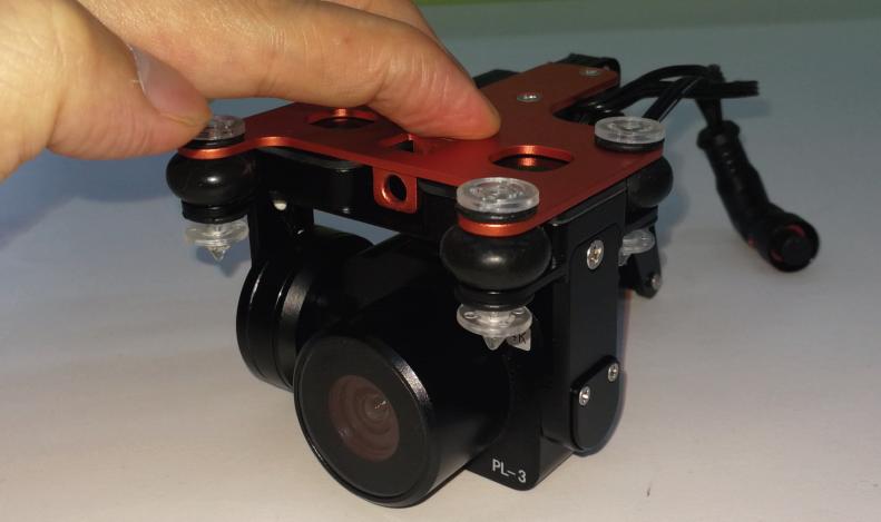 PL3 Camera Calibration - Pressing the PL3
