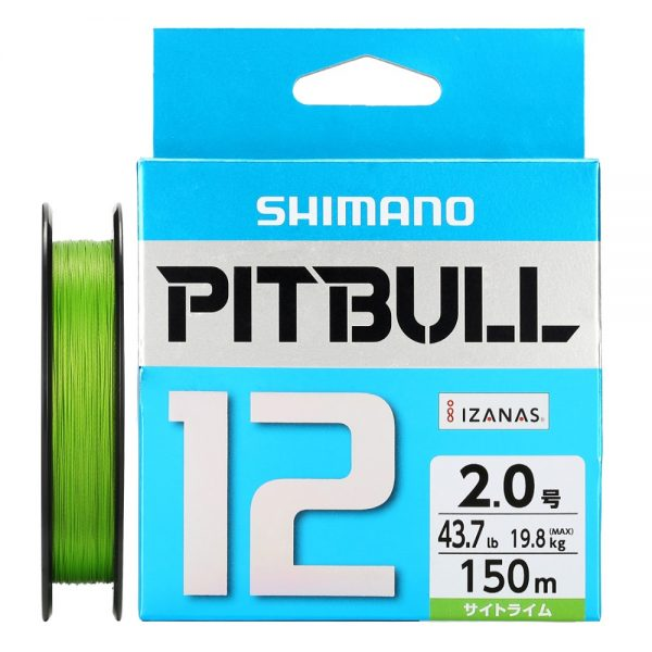 SHIMANO-PITBULL-X12-Braided-Fishing-Line-PE-150M-200M-Green-Blue-Made-in-japan