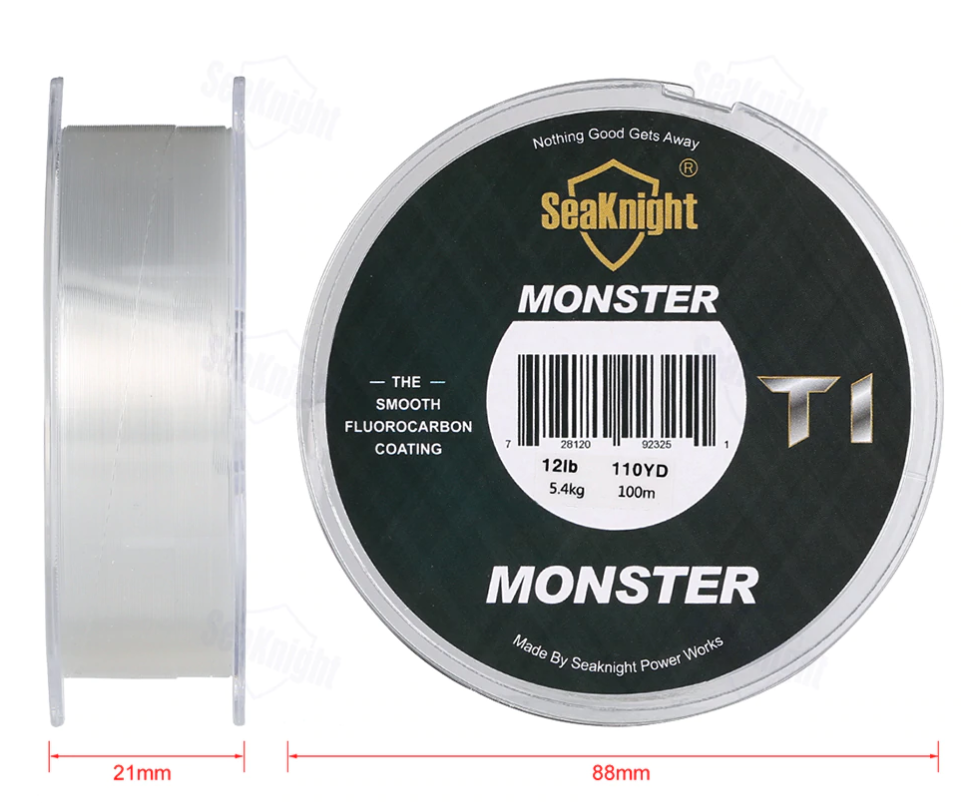 SeaKnight Monster T1 Actual size