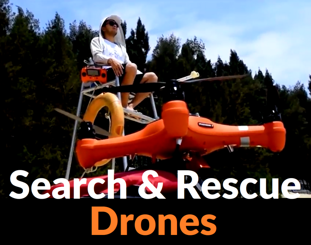 Search and Rescue Drones - featured picture