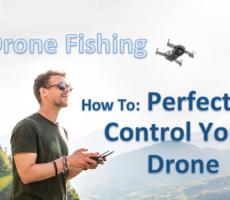 Drone Fishing - Perfectly Control Your Drone - DJI Flight Simulator