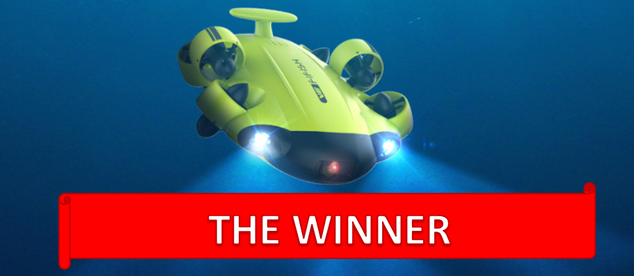 FIFISH V6 winner