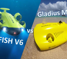 Gladius Mini vs FIFISH V6 - Best Underwater Drone - featued Image