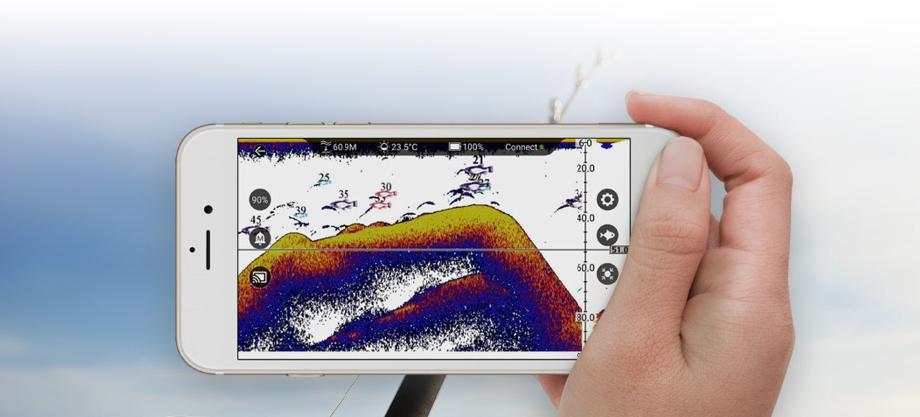 Joylog Smart Fish Finder Sonar - Mobile App