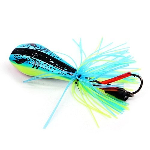 Jumping Frog Lure-90mm-10g-Hard-Bass-Bait-Snakehead-Lure-Topwater-Simulation-Popper-Frog_008