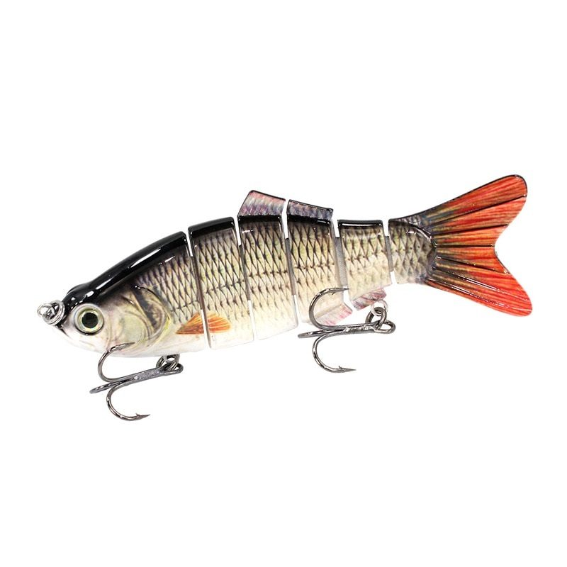 Multi Jointed 6 Segments Fishing Lure - Picture