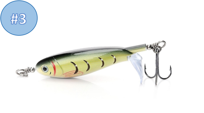 New style Whopper Plopper Fishing Lure - Finish-Tackle