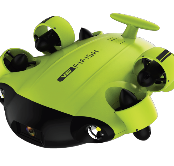 QYSEA FIFISH V6 Underwater Drone ROV Vehicle Finish-Tackle