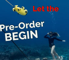QYSEA FIFISH V6 underwater drone Let the Pre order begin