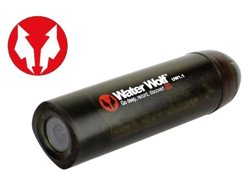 Water Wolf Fishing Camera with logo