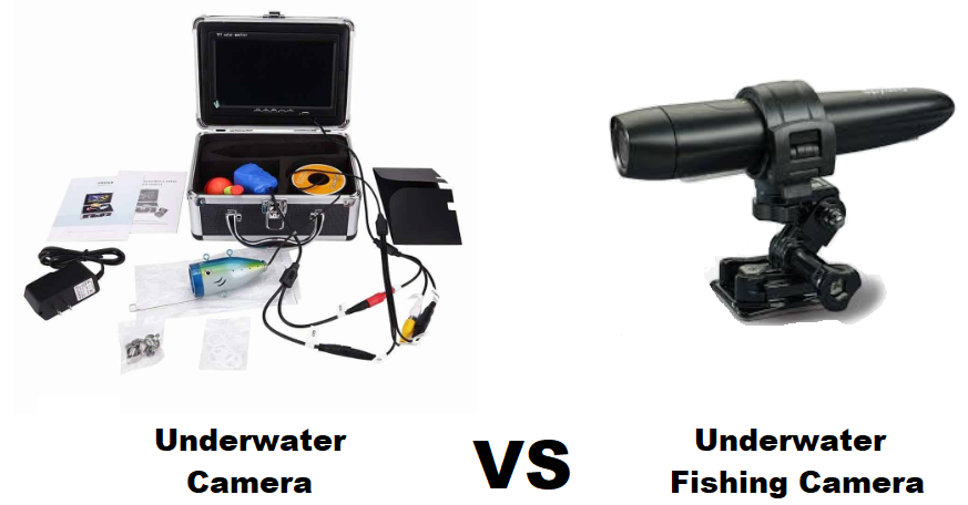 underwarer camera vs underwater fishing camera