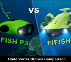 FIFISH V6 vs FIFISH P3 - Underwater Drone Comparison