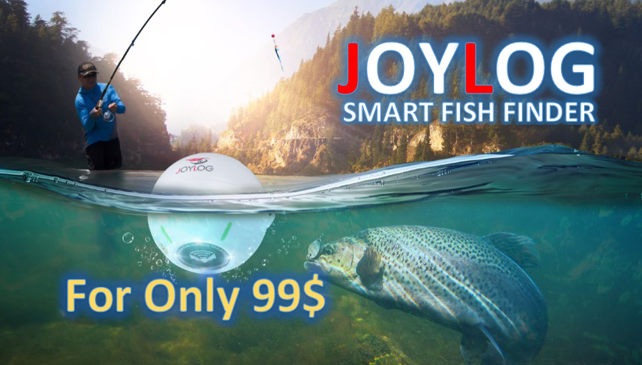 JOYLOG Smart Sonar Fish Finder 99 USD Finish-Tackle Featured Image