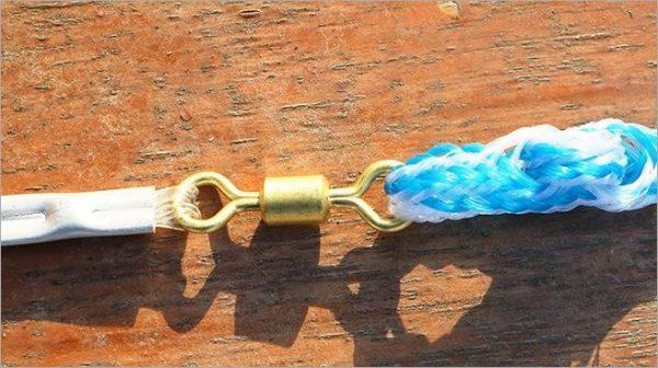 Magic Fishing Net - Blue Handle Cast Net for fishing - Catch Live bait - swivel