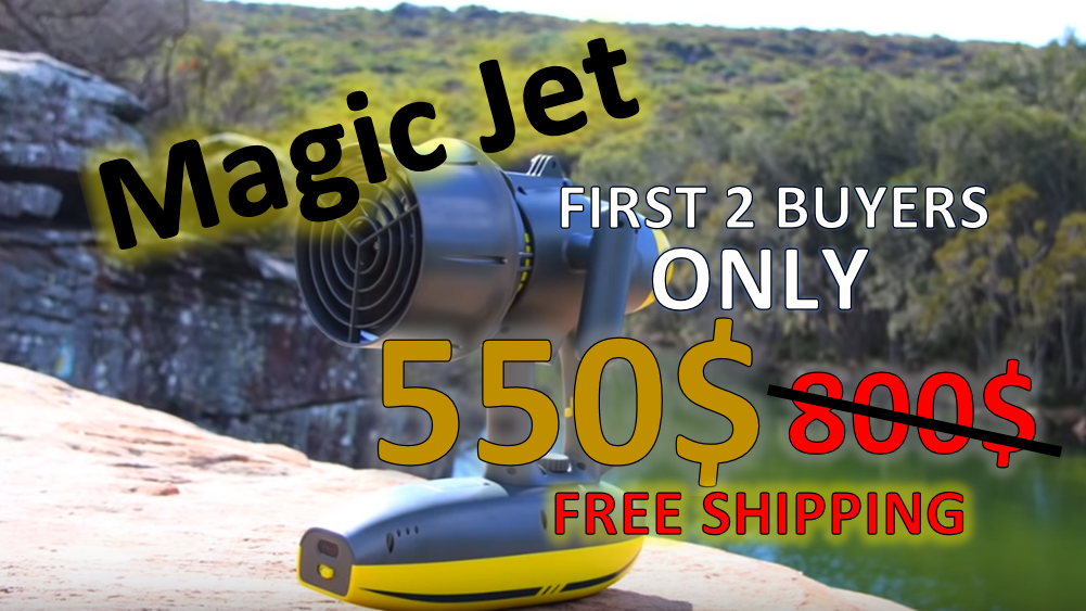Magic Jet Slider Offer - AquaRobotMan - Finish-Tackle 550 USD instead of 800 USD