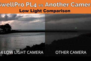 SwellPro Payload Release 4 review vs Other Camera Low Light Comparison Night Vision - Finish-Tackle