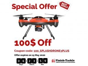 SwellPro SplashDrone 3+ Finish-Tackle special offer
