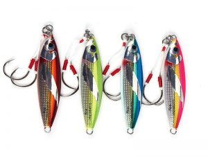 Slow Jig Fishing Lure Green Blue Pink Red 40g 60g 80g 100g
