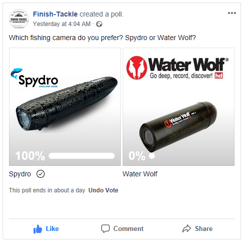 Spydro vs Water Wolf - Facebook Poll