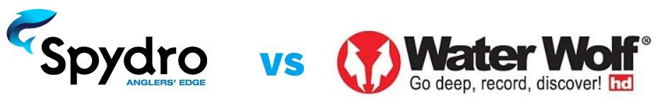 Spydro vs Water Wolf - Logos