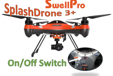 SwellPro SplashDrone 3+ Battery Power Button - Featured Image