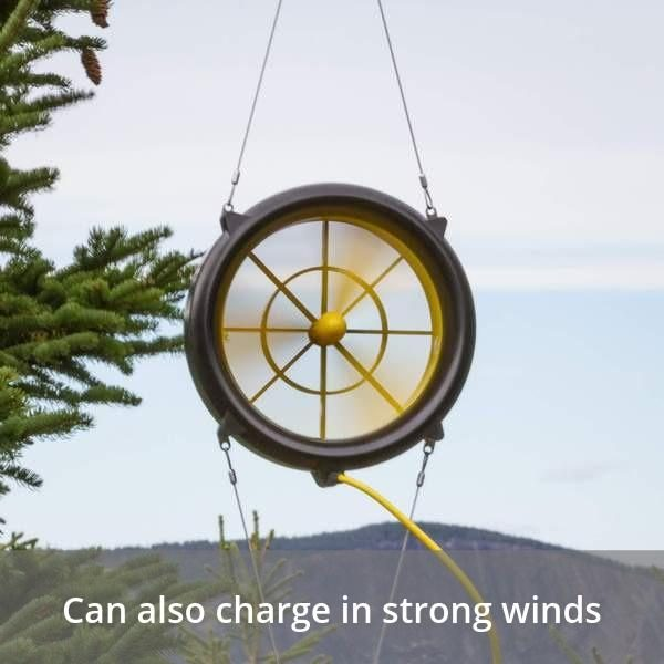 WaterLily Turbine 12v Charger - Charge in strong winds