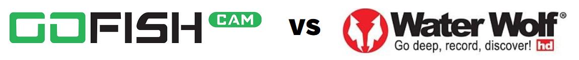 GoFish Cam vs Water Wolf - Logos