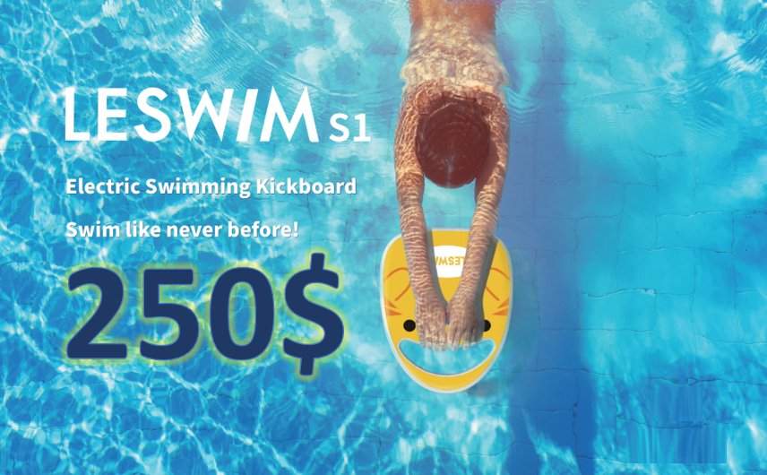 LESWIM S1 Electric Swimming Kickboard