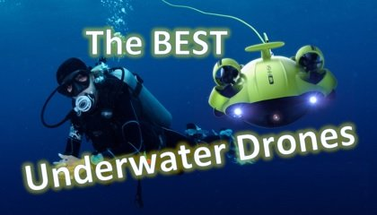 Best underwater drones - Small banner