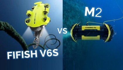 FIFISH V6S vs M2 ROV comparison - blog banner