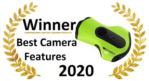 Best underwater drones camera - Best camera features FIFISH P3
