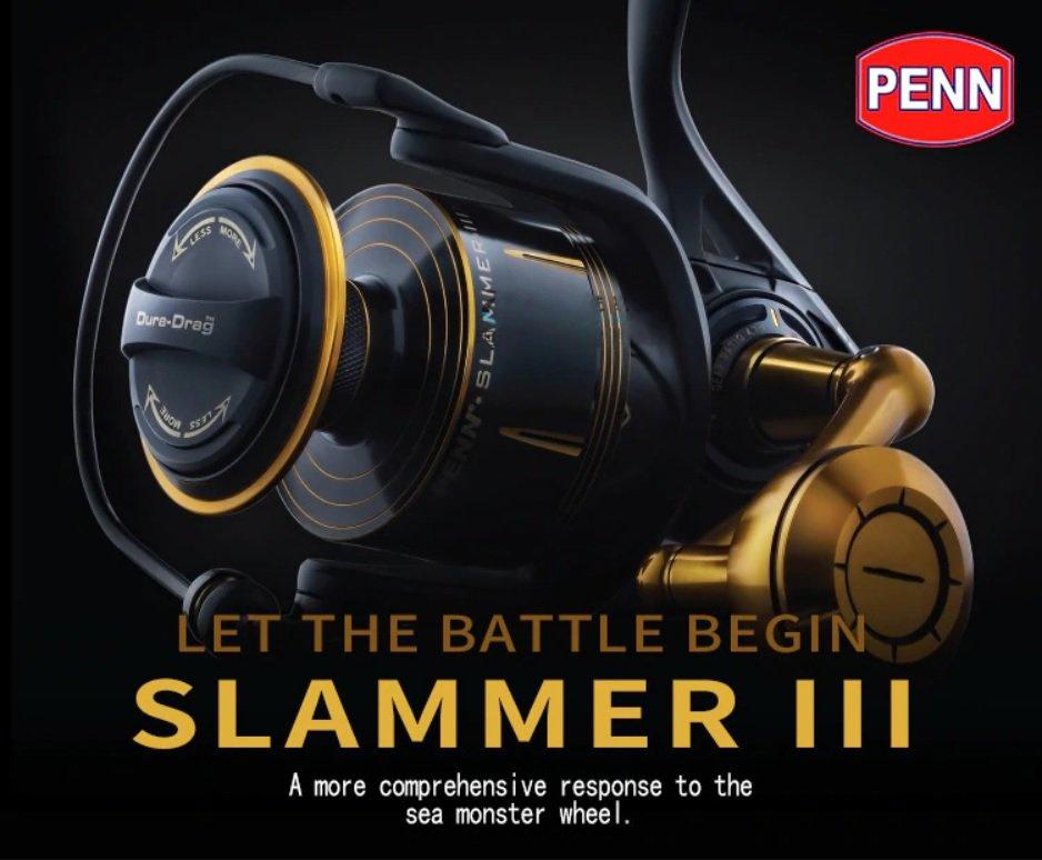 Penn Slammer III Spinning - Let the battle begin