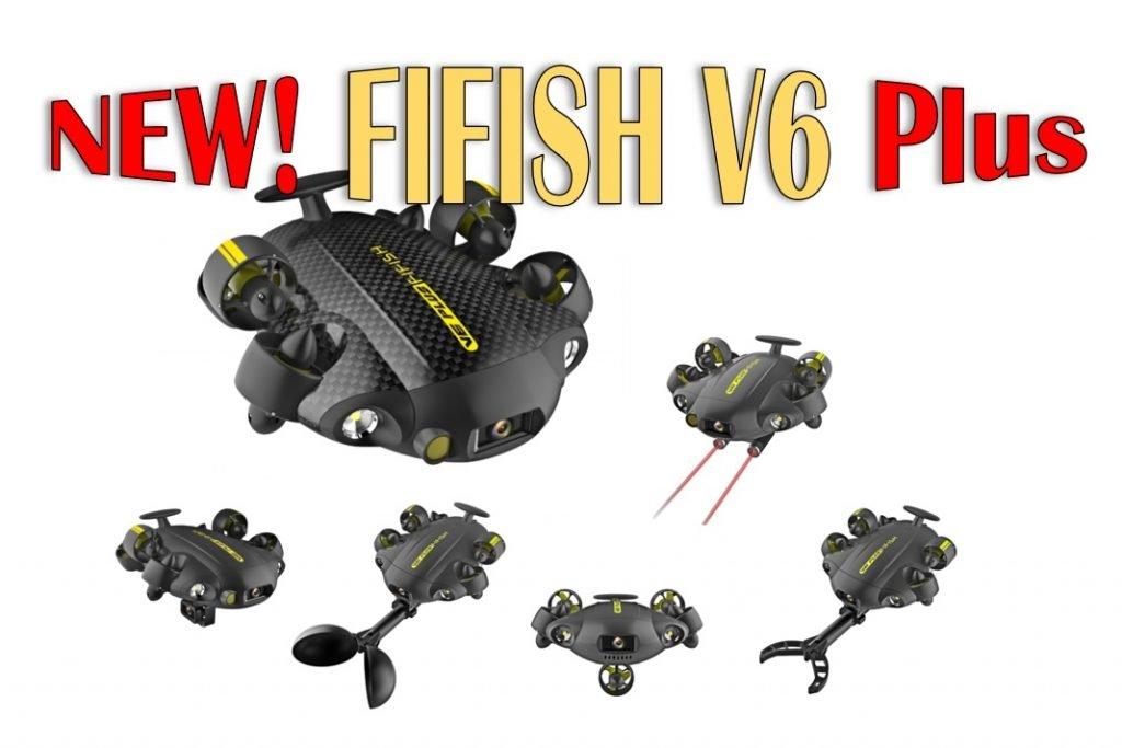 QYSEA announced FIFISH V6 Plus