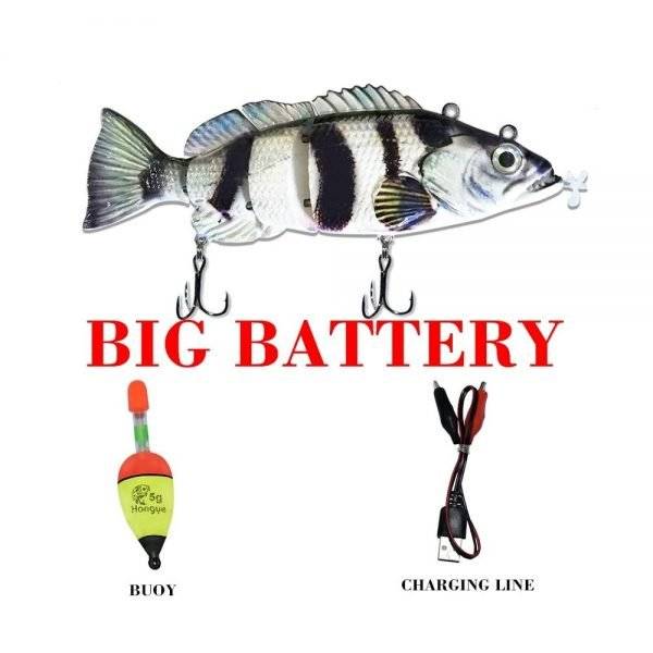 Robotic Lure Animated Lure Electric Lure 54 grams - Big Battery