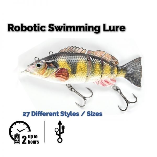 Robotic Swimming Lure - Featured Picture 27 styles 3 length 4 weights