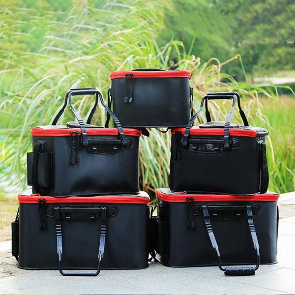 Foldable Waterproof Fishing Bucket - All bags