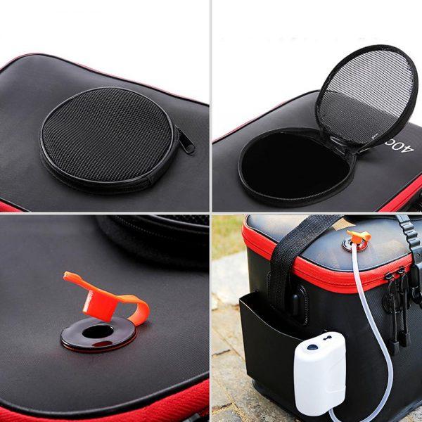 Foldable Waterproof Fishing Bucket - Features
