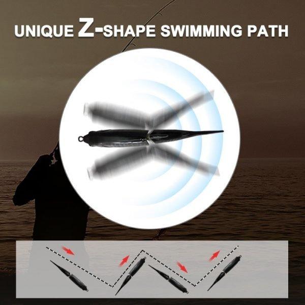 Glide Bait Waver 185 - z shape