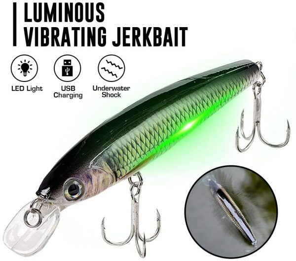 Luminous Vibrating Jerkbait - Featured