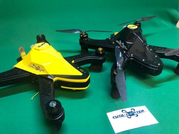 cuta-copter Ex-1 fishing 2 drones