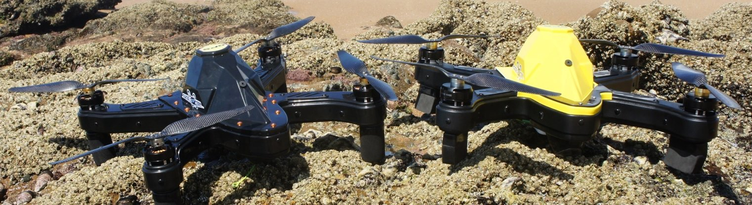 cuta-copter Ex-1 fishing 2 drones at the beach
