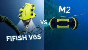 FIFISH V6s VS M2 – Underwater Comparison