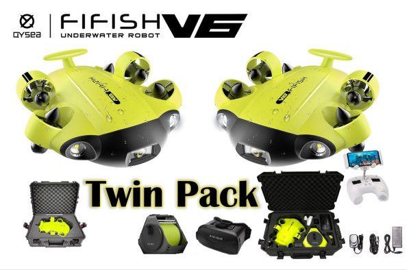 QYSEA FIFISH V6 Twin Pack