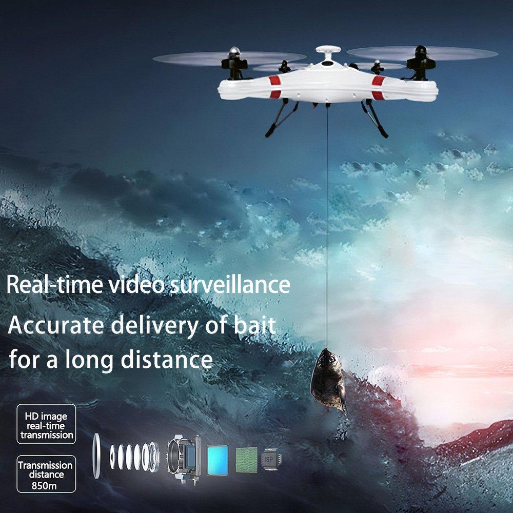 IDEAFLY Poseidon Pro RC Fishing Drone 850m 5G WiFi 1080P GPS Waterproof Camera Quality