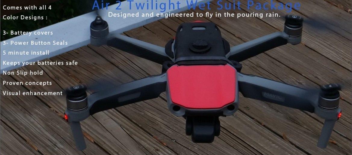PhantomRain Mavic Air 2 Wetsuit - Package