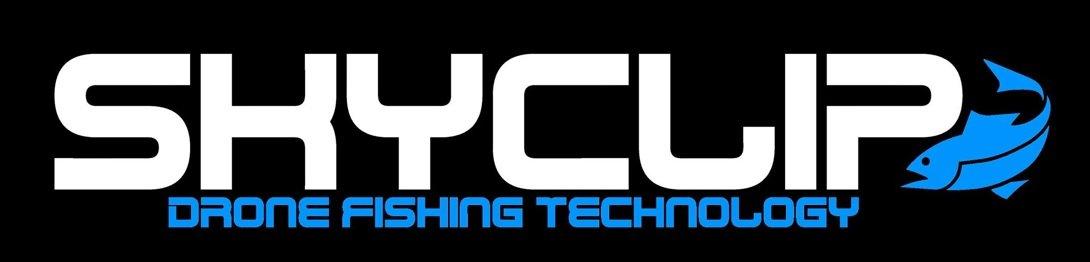 SkyClip Logo - Drone Fishing