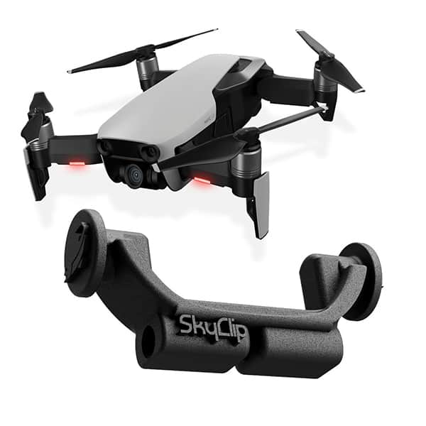 SkyClip for Mavic Air - Drone and device