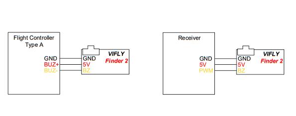 VIFLY Finder 2 wiring diagram