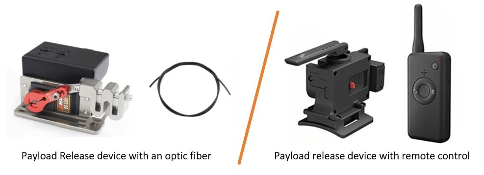 Which payload release device should I buy - electric payload release devices