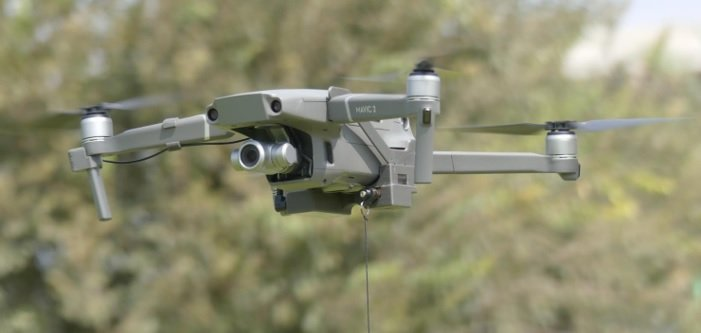 Drone Sky Hook - Combined Bait dropping device on Mavic